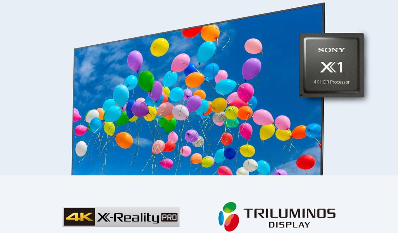 sony 4K TV HDR Processor X1