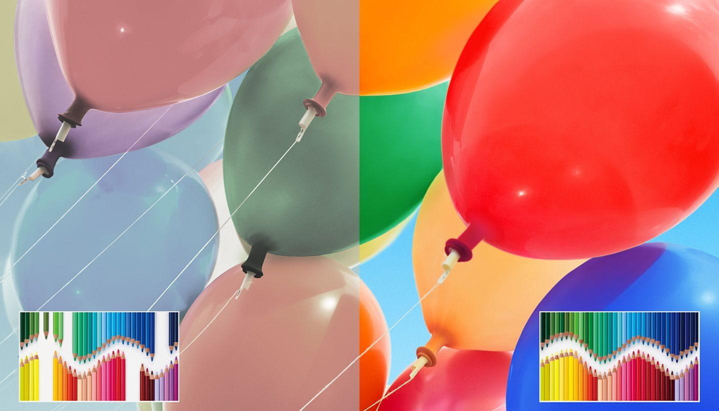 sony 4K TV Triluminos živé barvy