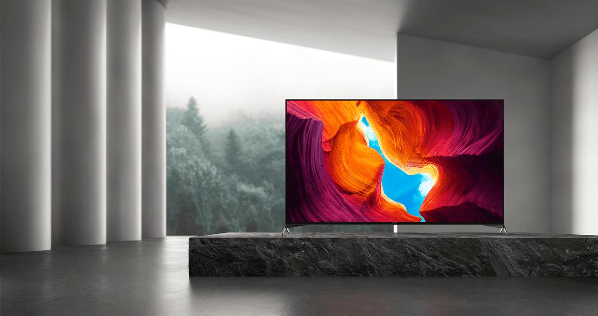 sony 4K TV kontrastni zvok