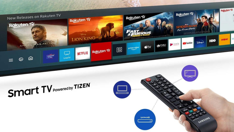 samsung tv televize 2020 Smart Hub intuitivní menu ovladač One Remote