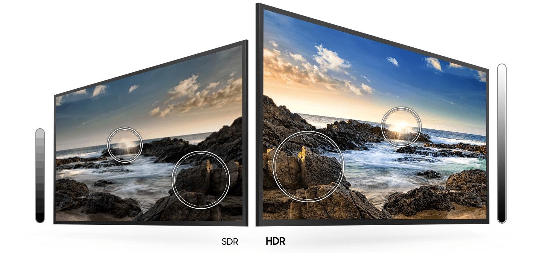 samsung tv televize 2020 HDR vysoký dynamický rozsah