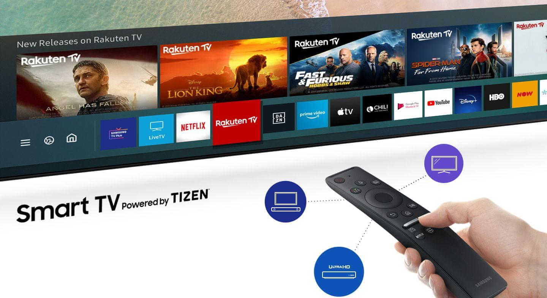 samsung tv televizor 2020 Smart Hub intuitiven gonilnik menija One Remote