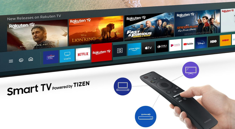 samsung tv televize 2020 crystal uhd