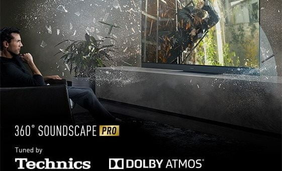 Telewizor Panasonic OLED 2020 dźwięk 360 soundscape pro dolby atmos
