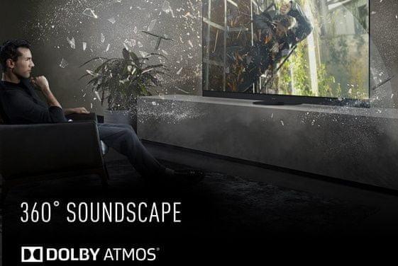 Telewizor Panasonic OLED 2020 dźwięk 360 soundscape dolby atmos