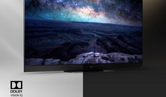 Telewizor Panasonic OLED 2020 Dolby Vision IQ oświetlenie pomieszczenia