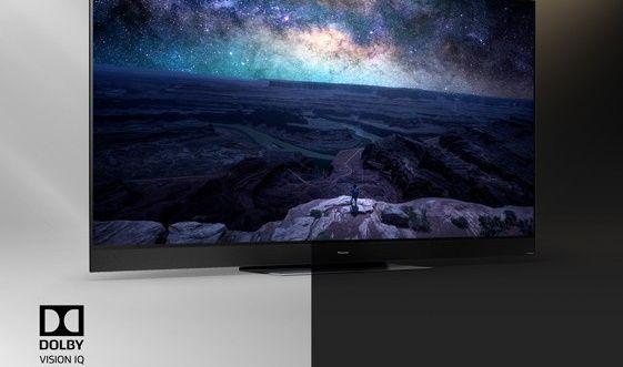 Panasonic OLED tv telewizor 2020 Dolby Vision IQ oświetlenie pomieszczenia