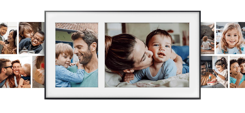 samsung tv televizor frame lastne fotografije