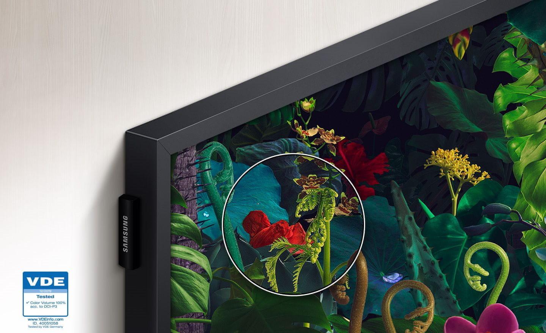 samsung telewizor Frame Quantum Dot kolory