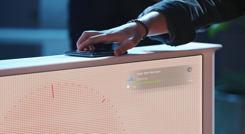 samsung tv televizor Serif NFC zrcaljenje