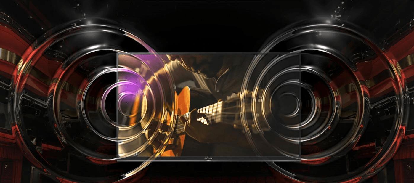 sony 4K TV ClearAudio+