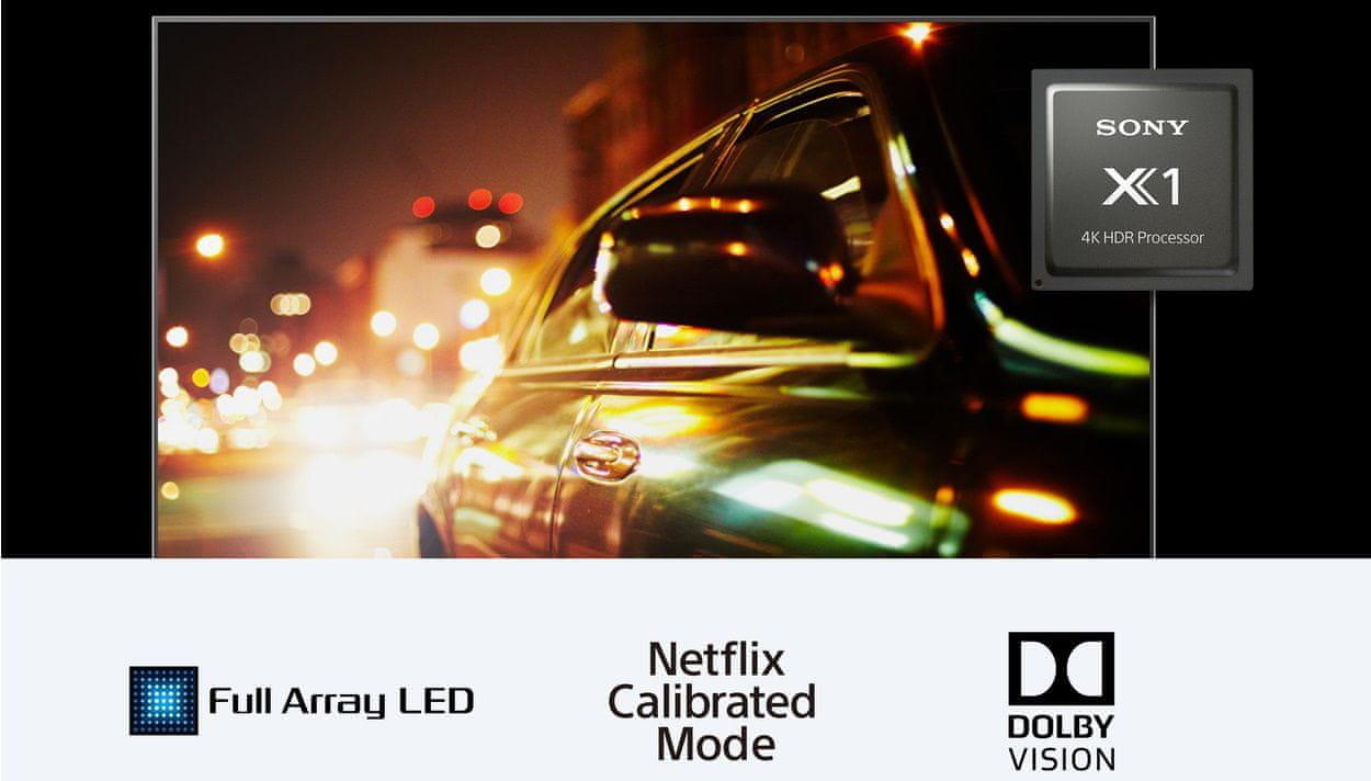 Sony 4K TV 4K HDR Processor X1 Full Array LED