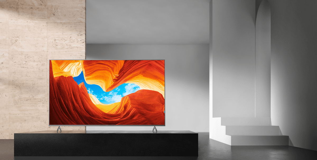 sony 4K TV kontrast zvuk farby