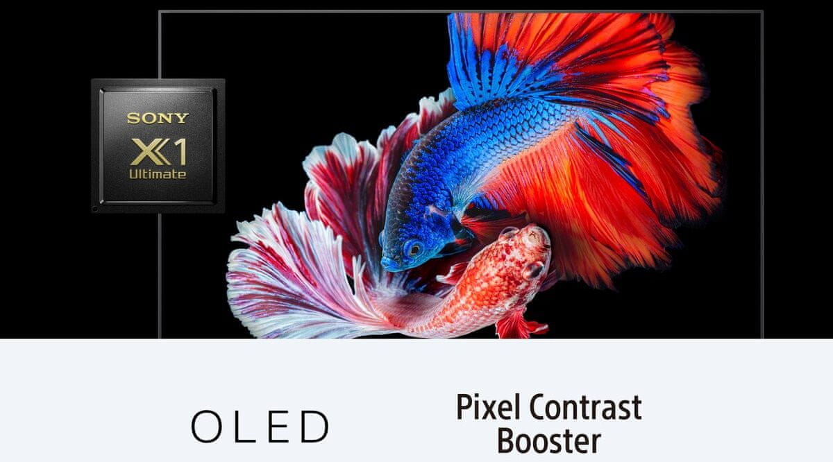sony 4K TV OLED Processor X1 Ultimate