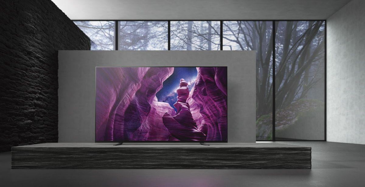sony 4K TV OLED design zvok