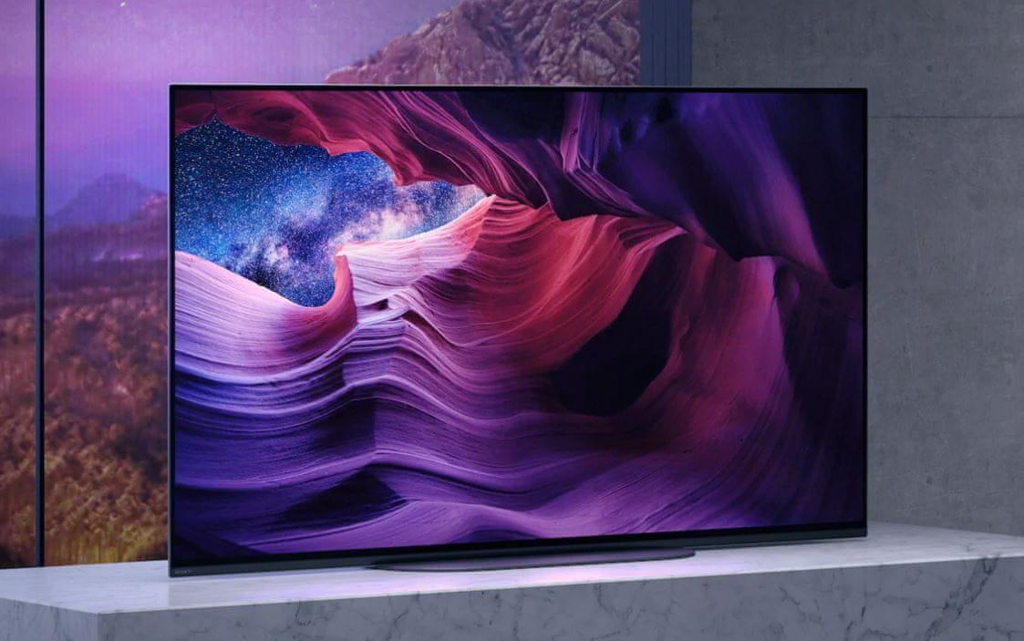 sony 4K TV OLED design zvok
