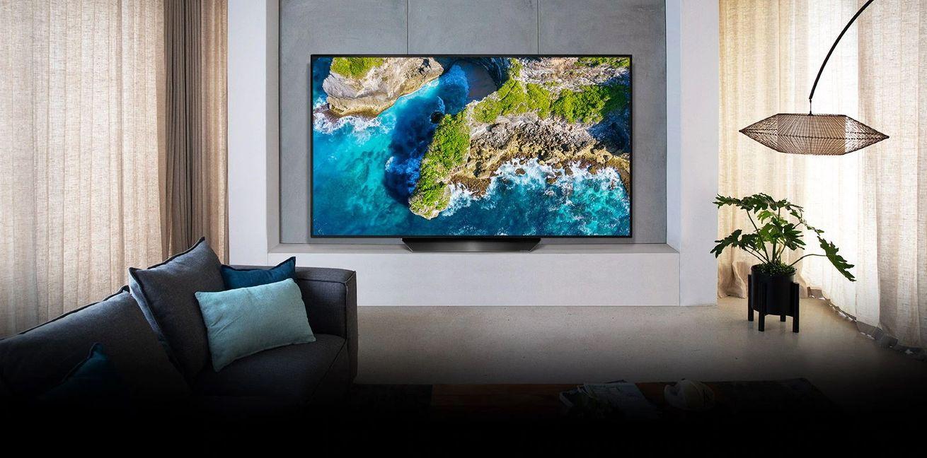 LG OLED TV dizájn