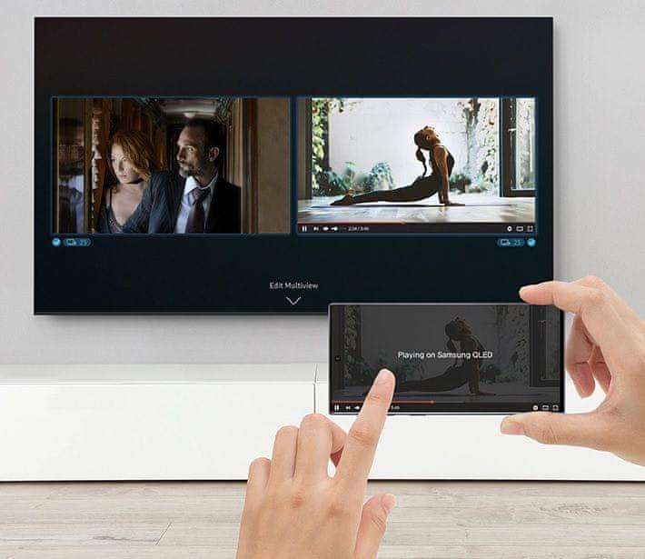 samsung tv televizor qled 2020 hdr 8K popolna slika, pametni uporabniški vmesnik