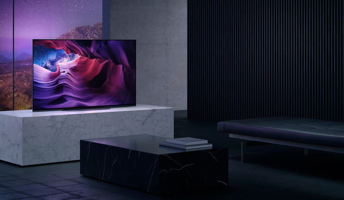 sony 4K TV OLED design zvuk