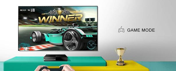hisense tv televize  4K 2021 herní režim