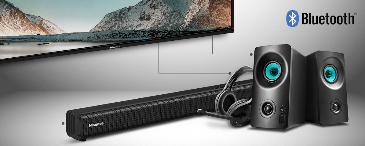 hisense tv televize 2021 4K Bluetooth