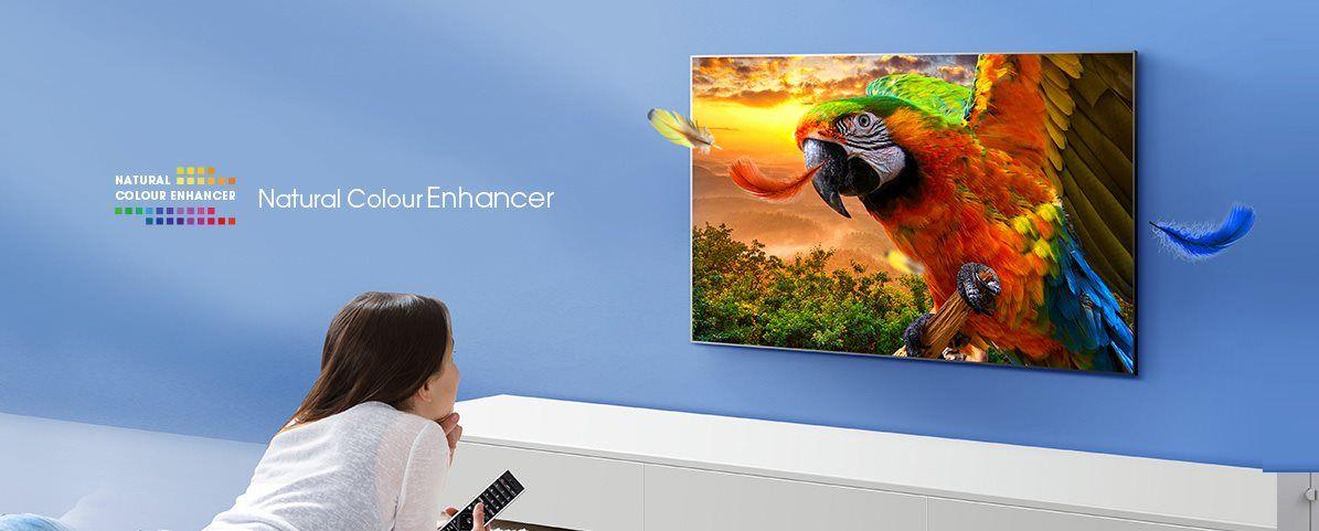 hisense tv televize  4K 2021 kontrast detail přirozené barvy natural color enhancer master pro