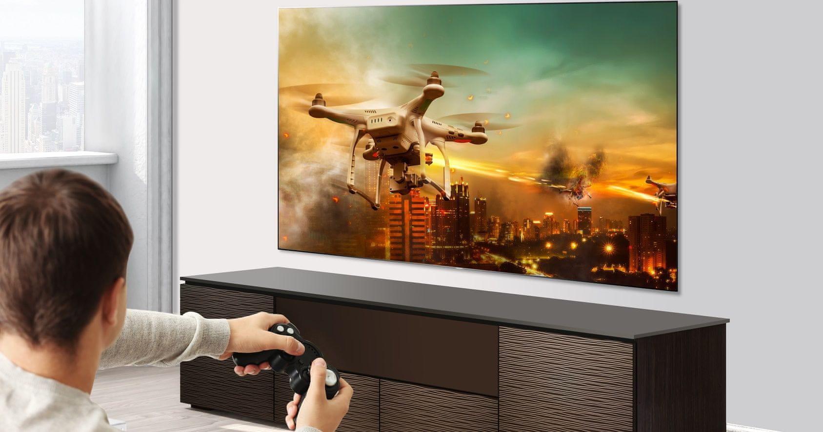 hisense tv televize 4K 2021 hdmi dvd přehrávače herní konzole