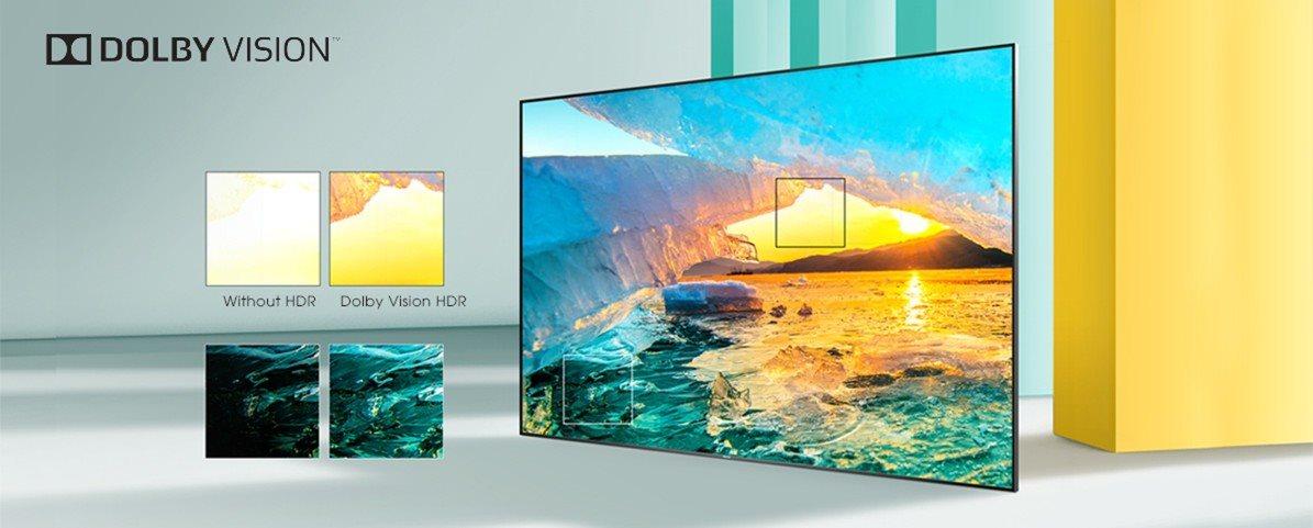 hisense tv televize  4K 2021 kontrast detail hdr dolby vision