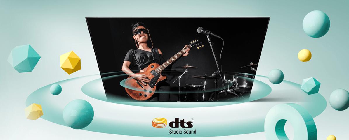 hisense tv televízia 4K 2021 dts štúdio sound priestorový zvuk 3D