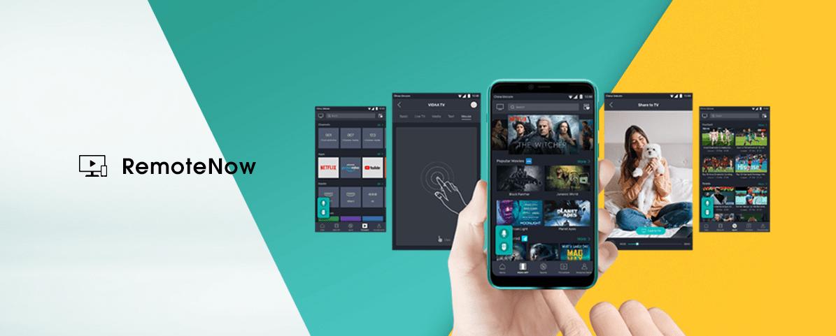 Hisense tv televízia 4K 2021 remote now zrkadlenie mobilný telefón