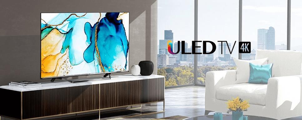 hisense tv televize 4K 2021 prostorový zvuk dolby vision dolby atmos quantum dot
