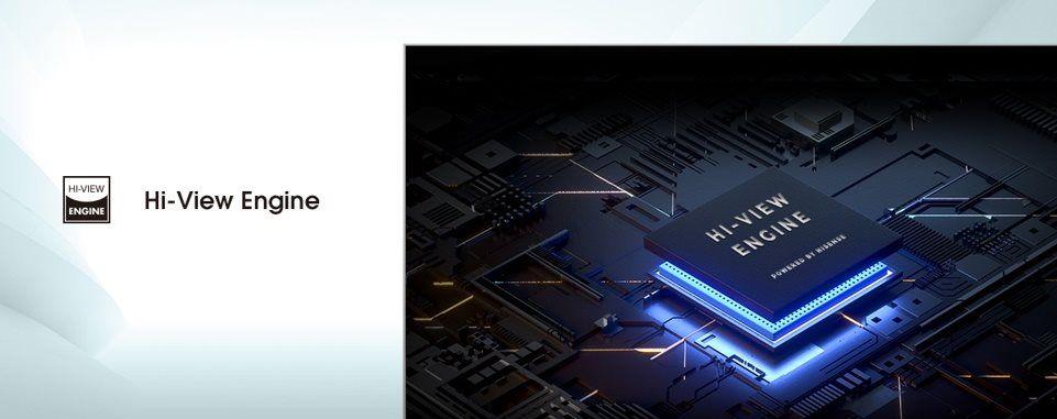 hisense tv televize 2021 4K hi-view engine umělá inteligence plynulý obraz jemný jasný