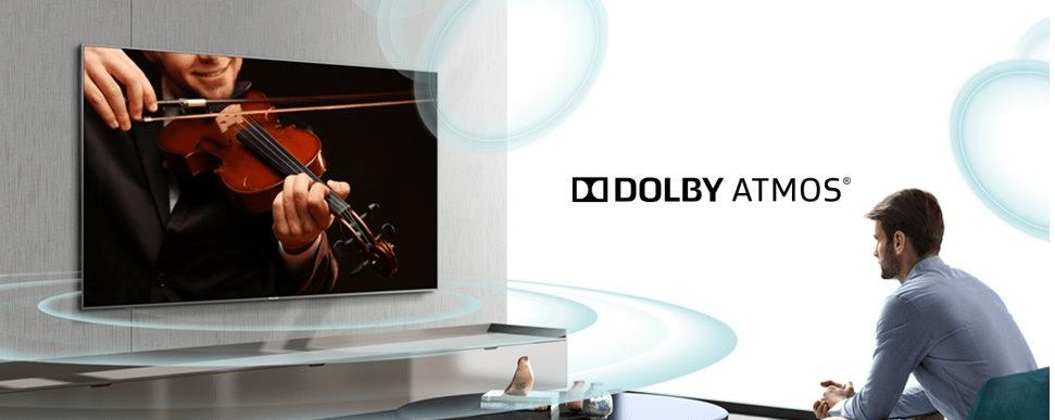 hisense tv televize  4K 2021 dolby atmos prostorový zvuk pohlcující