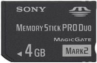 Sony Memory Stick PRO Duo Mark2 MS-MT4G