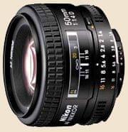 Nikon objektiv AF Nikkor 50mm f/1,4D