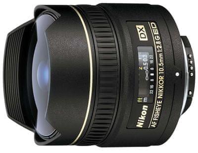 Nikon objektiv AF DX Fisheye-Nikkor 10,5 mm f/2,8G ED