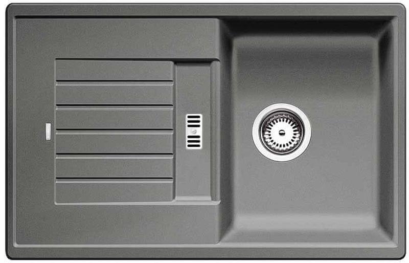 Blanco Zia 45 S - aluminium