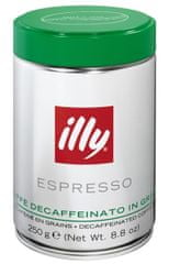 illy Kawa bezkofeinowa Espresso Decaffeinato In Grani - 250 g