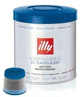 illy kava v kapsulah Iperespresso, za dolge kave, 21 kapsul