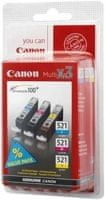 Canon CLI-521 C/M/Y Pack (2934B010)