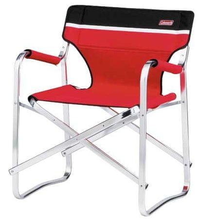 Coleman Deck Chair Cardinal