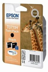 Epson črnilo črno, dvojno pakiranje Stylus (D120, DX7450, DX9560, DX9400F)