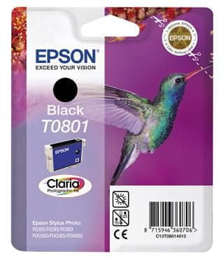 Epson tusz T0801 - czarny (C13T08014011)