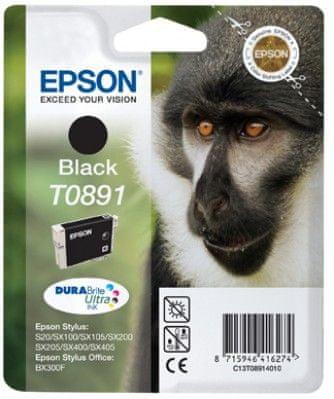 Epson Kartuša T0891, črna