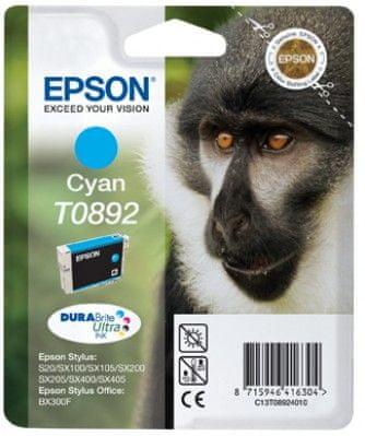Epson tusz T0892 - Cyan Ink Cartridge SX10x 20x 40x (C13T08924021)
