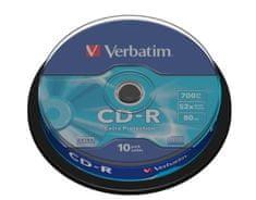 Verbatim CD-R 80 52x EXTRA, 10 na osi