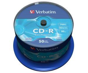 Verbatim CD-R medij 700 MB 52x (43351), 50 na osi