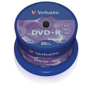 Verbatim DVD+R 4,7GB 16x spindl 50pck/BAL