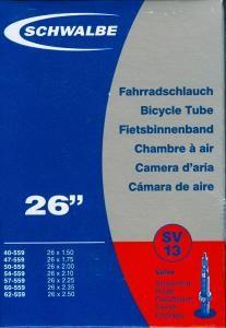 """Schwalbe Duše pro horské kolo 26"""" galuskový v. (SV13) Set 2ks"""