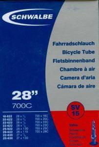 """Schwalbe Duše ROAD 28"""", galuskový (SV15)"""
